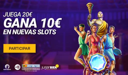 Apakah Anda ingin memenangkan € 10 dengan slot YoCasino baru?